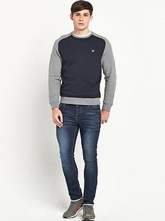 lyle-scott-lyle-amp-scott-saddle-sleeve-crew-neck-sweat