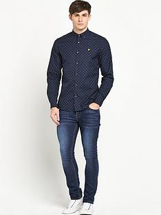 lyle-scott-lyle-amp-scott-dot-shirt