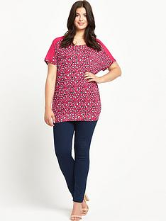 so-fabulous-so-fabulous-animal-print-chiffon-yoke-banded-hem-top