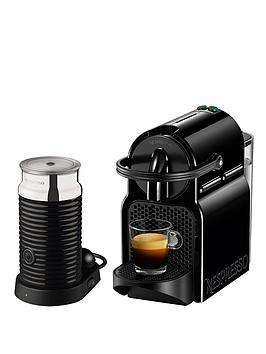 Nespresso Inissia And Aeroccino 3 Coffee Machine By Magimix  Black