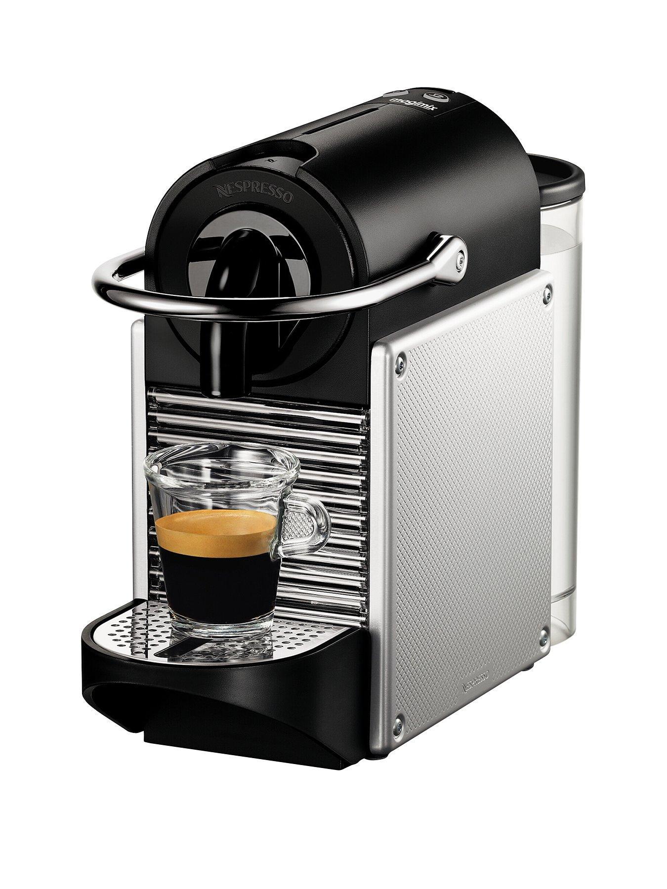 Nespresso Pixie Coffee Machine By Magimix   Aluminium Amazing Design