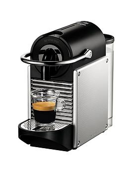 Nespresso Pixie Clips Coffee Machine By Magimix  Aluminium