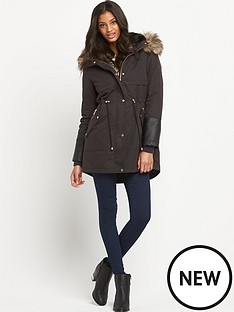 oasis-premium-parka-coat-with-fauxampnbspfur-lining-and-hood