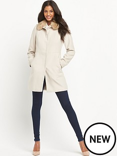 oasis-amelia-smart-coat-with-detachable-faux-fur-collar