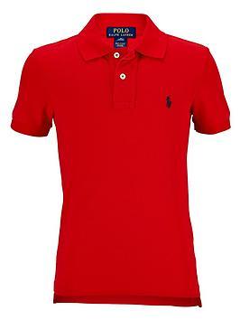 Ralph Lauren Ralph Lauren Boys Classic Polo Shirt - Red Picture