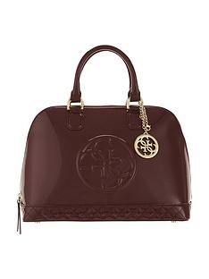 guess-guess-amy-patent-dome-bag-red