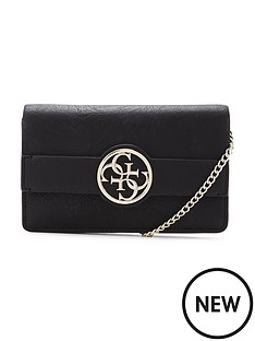 guess-guess-diamante-clutch-bag-black