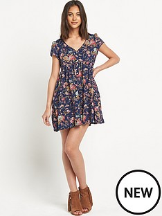 denim-supply-ralph-lauren-floral-button-front-dress