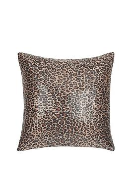 sequin-leopard-cushion