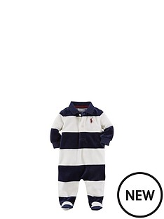 ralph-lauren-velour-striped-sleepsuit