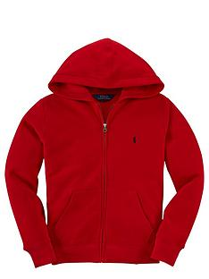 ralph-lauren-ralph-lauren-hooded-zip-through-top-red