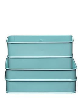kitchencraft-vintage-sink-tidy-blue