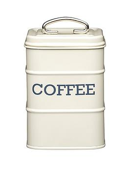Living Nostalgia Coffee Tin