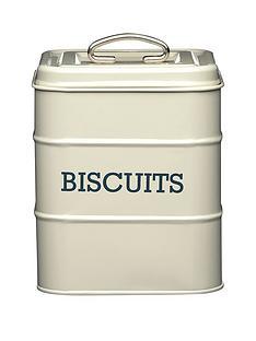 kitchencraft-antique-biscuit-tin-cream