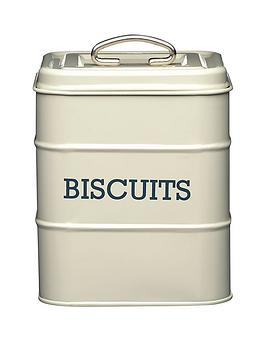 Living Nostalgia  Biscuit Tin