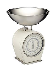 kitchencraft-antique-mechanical-scales-cream