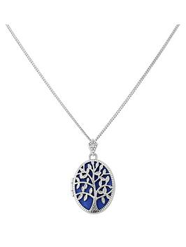 keepsafe-sterling-silver-blue-inset-tree-of-life-design-oval-locket