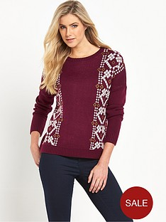 firetrap-firetrap-liva-embroidered-jumper