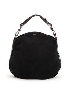 ugg-australia-heritage-suede-hobo-bag-black