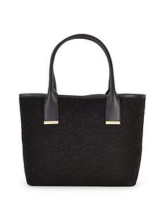 ted-baker-lace-neoprene-shopper-black