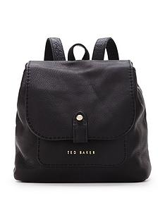 ted-baker-leather-stab-stitch-backpack