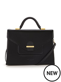 ted-baker-ted-baker-crosshatch-tote-bag-black