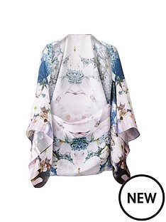 ted-baker-floral-silk-cape