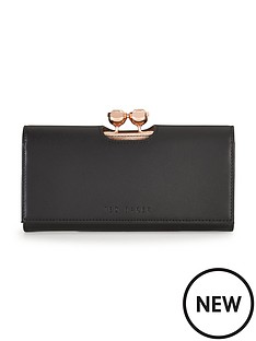 ted-baker-leather-flap-matinee-purse