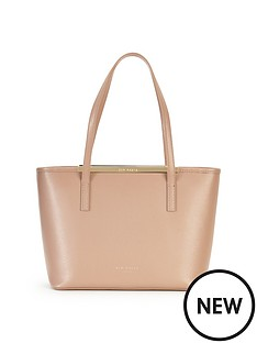 ted-baker-zip-top-small-crosshatch-shopper