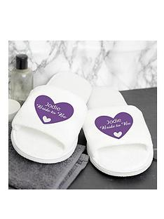personalised-bride-to-be-slippers