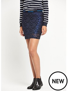 superdry-lacy-foil-mini-skirt