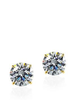 carat-london-9-carat-yellow-gold-05-carat-equivalent-eternal-4-prong-solitaire-earrings