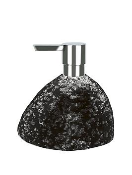 spirella-etna-glitter-blacksoap-dispenser