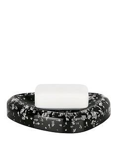 spirella-etna-glitter-black-soap-dish