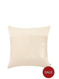 catherine-lansfield-silk-sequin-cushion-cream-43x43