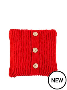 knitted-cushion-red-45-x-45-cm