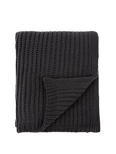 catherine-lansfield-knitted-throw-charcoal