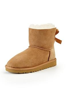 ugg-australia-girls-mini-bailey-bow-boots