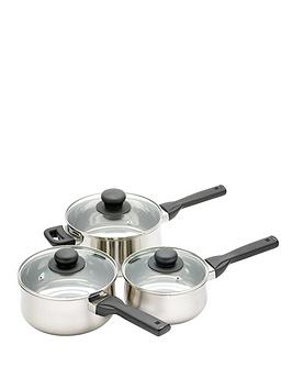 kitchen-craft-3-piece-saucepan-set-stainless-steel