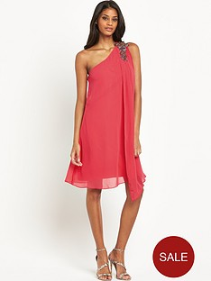 little-mistress-one-shoulder-drape-swing-dress