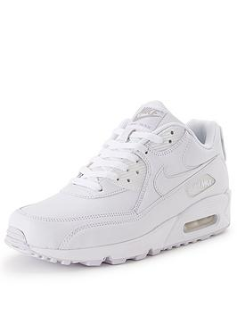 new nike air max men's white