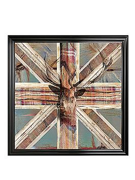 1wall-stag-framed-art