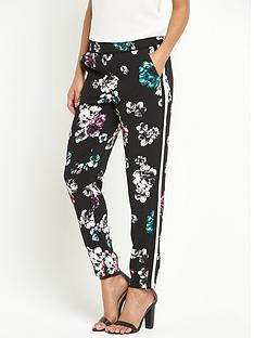 oasis-jessica-peony-print-trouser