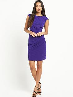 oasis-ruched-slinky-pencil-dress