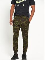 Tech Fleece Camo Mens Track Pants