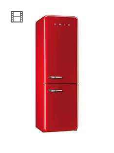 smeg-fab32rnr-60cm-fridge-freezer-red