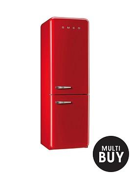 smeg-fab32rnr-60cm-fridge-freezer-red