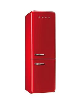 Smeg Fab32Rnr 60Cm Fridge Freezer  Red