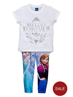 disney-frozen-girls-frozen-t-shirt-and-printed-leggings-set-2-piece