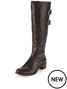 clarks-likeable-me-brown-leather-knee-boot